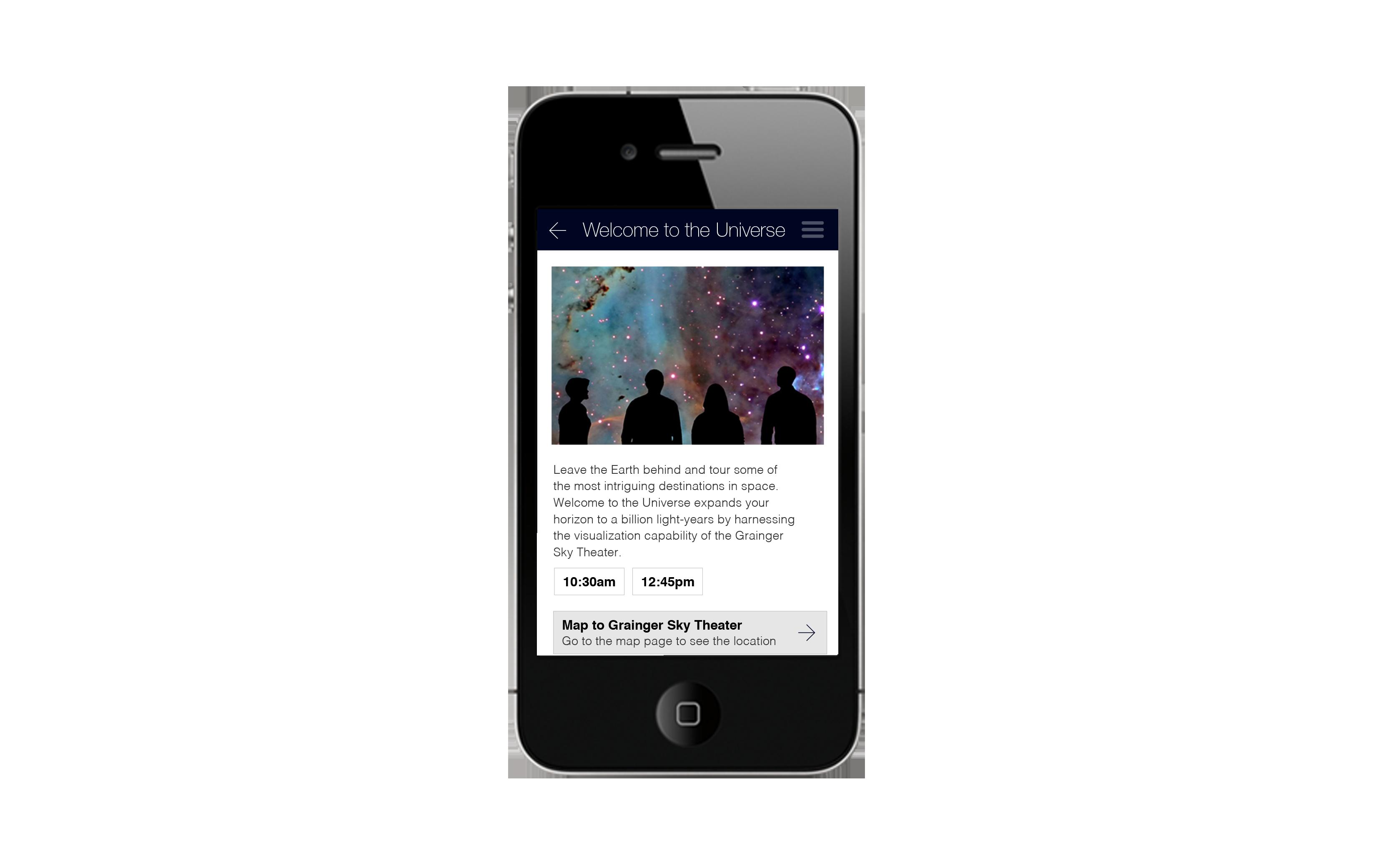 Museum App Event