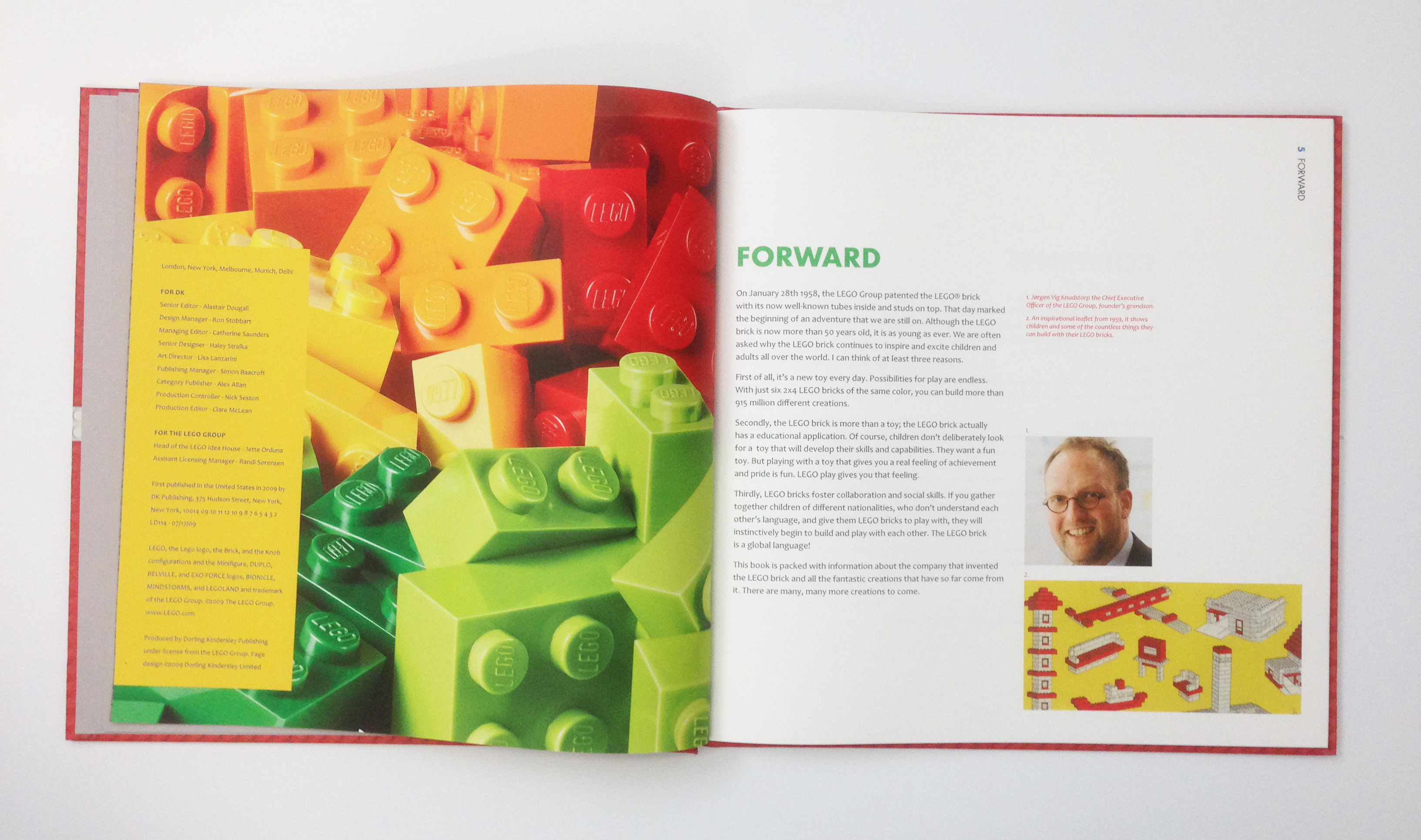 Lego Book Design