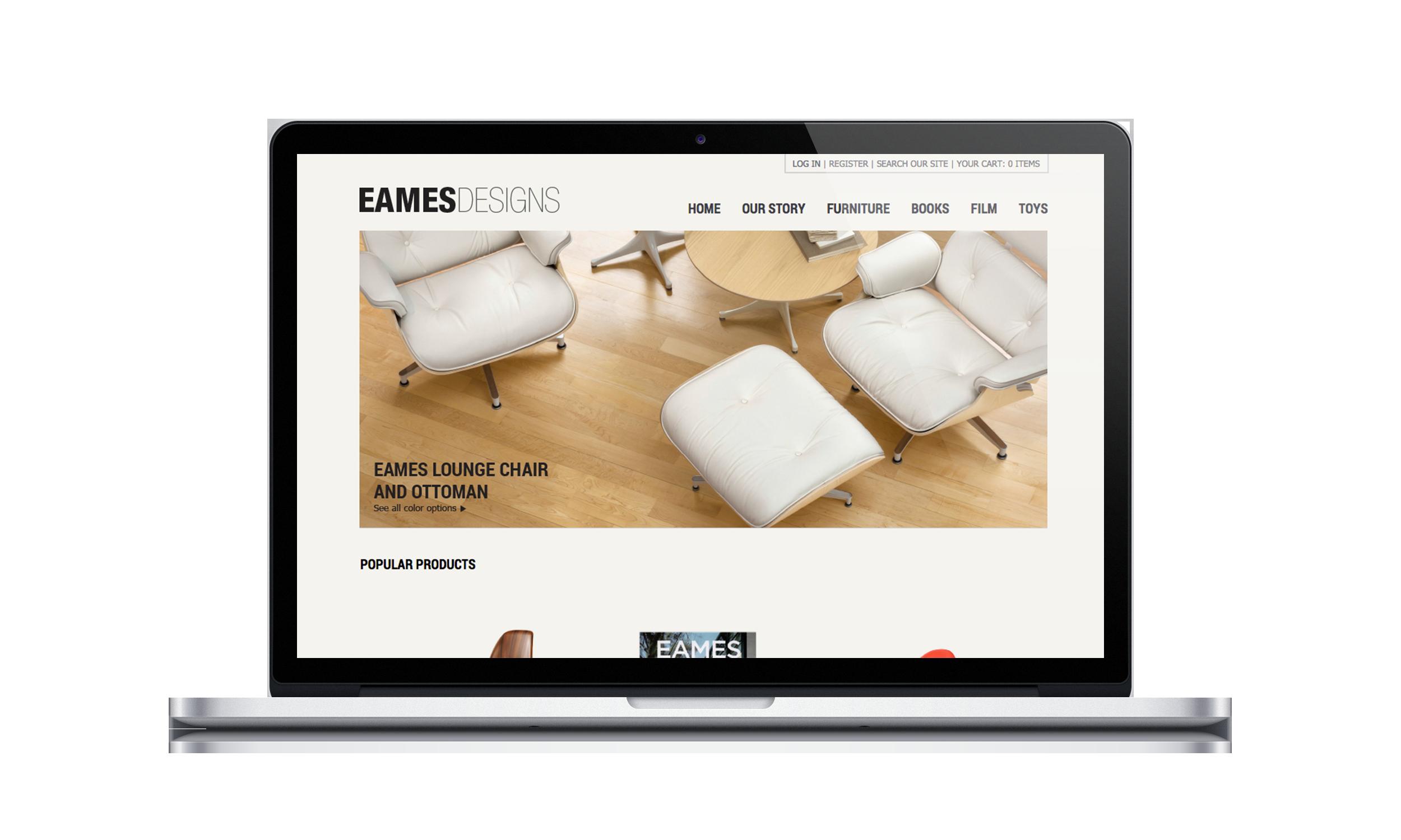 Eames Design Website