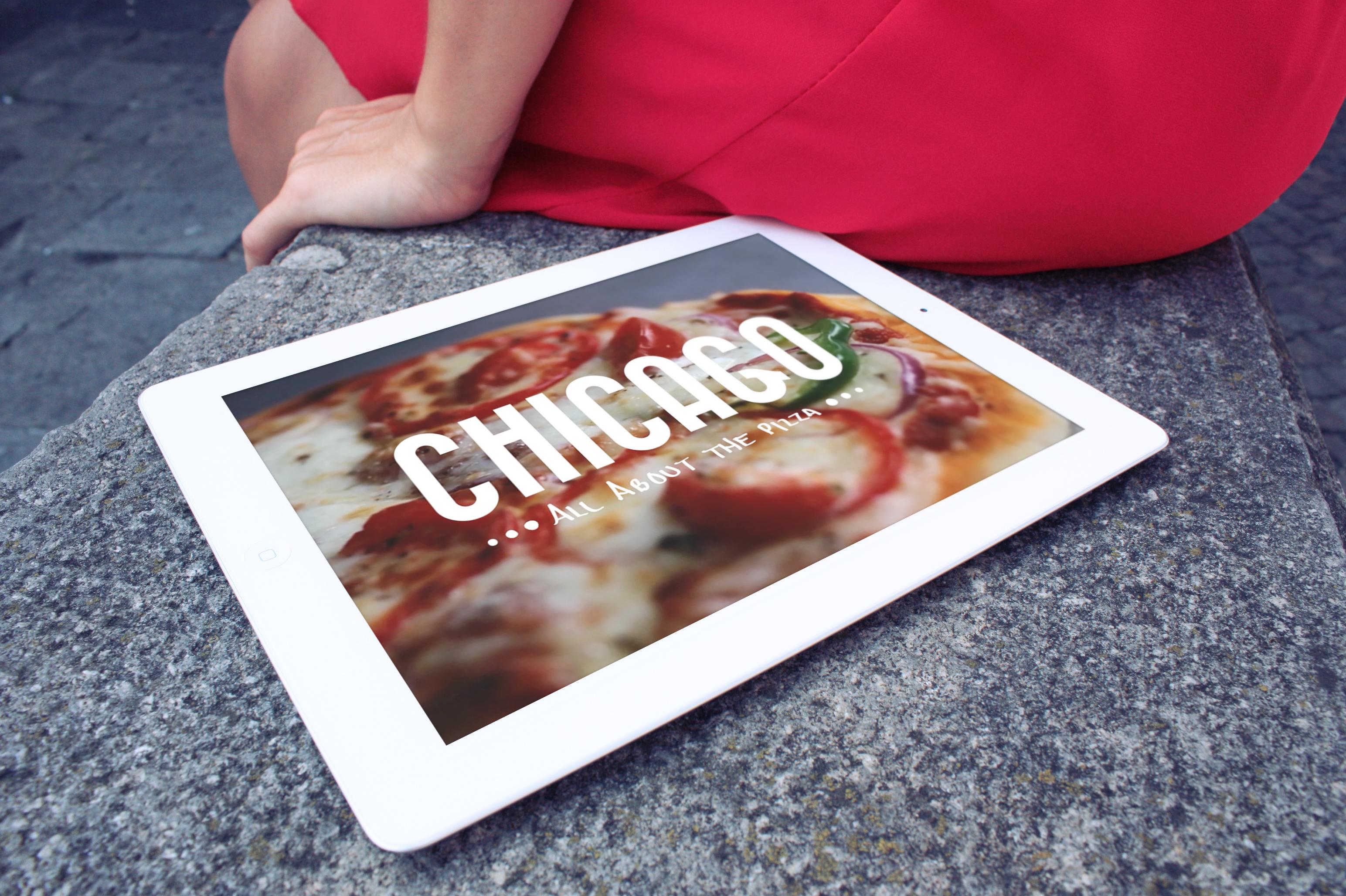 iPad Pizza Application