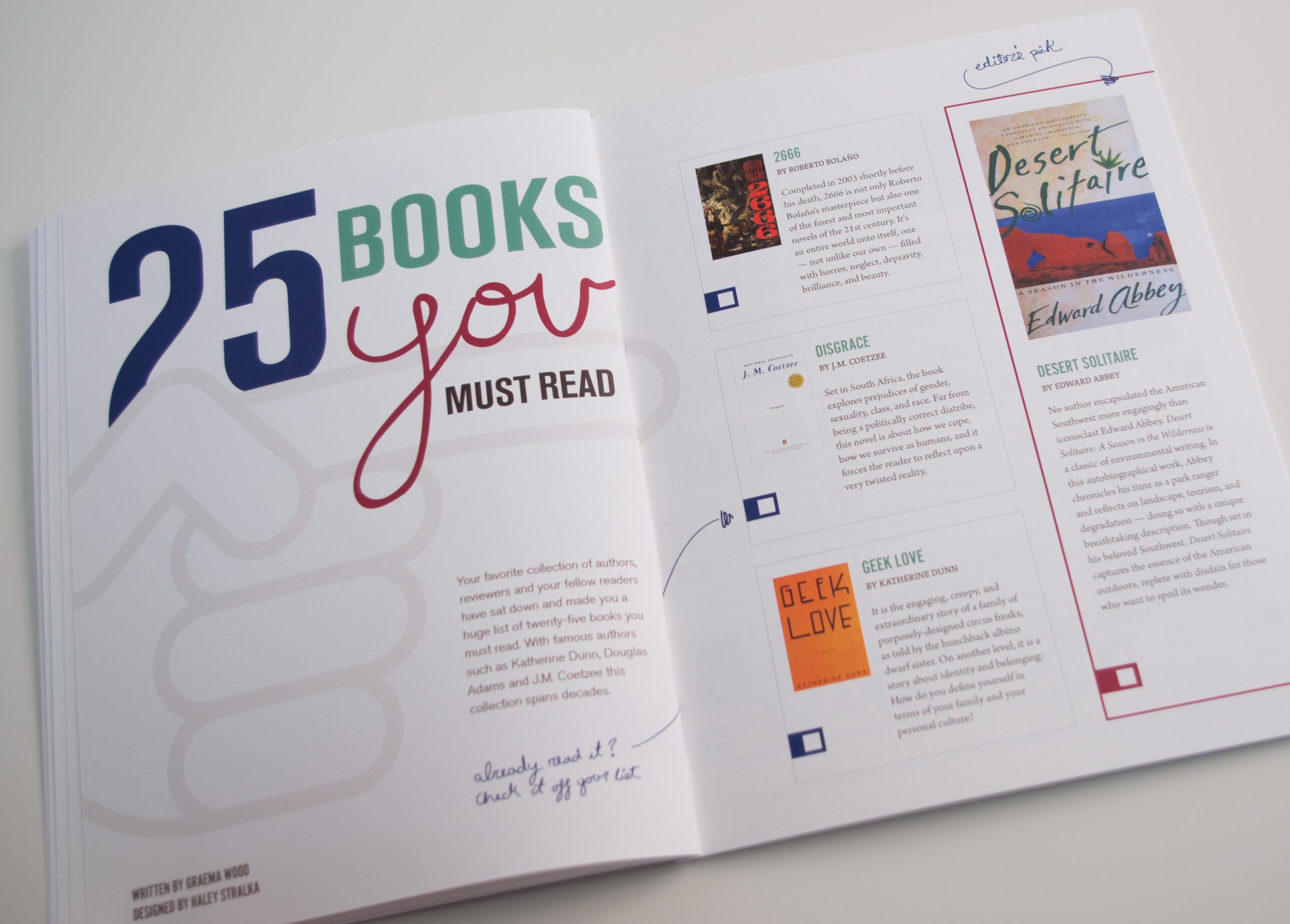 Leaflet Magazine Spread