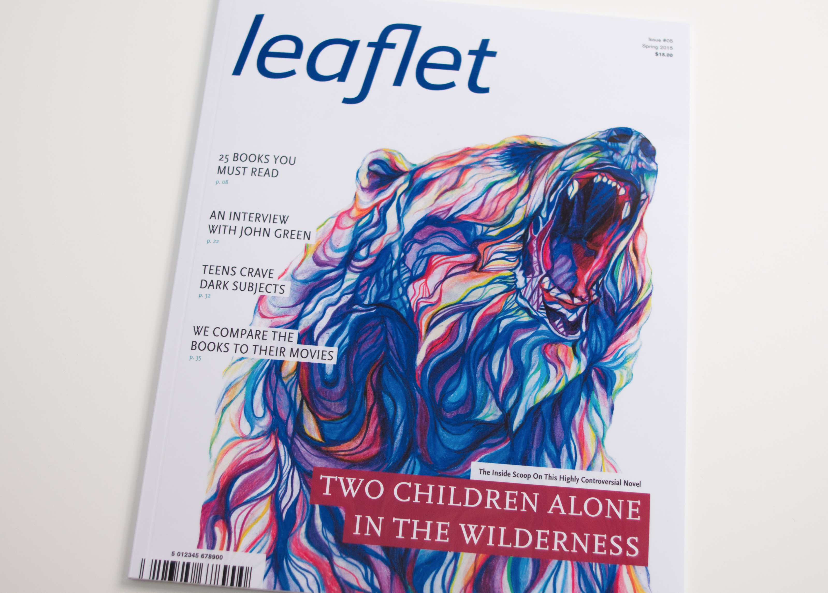 Leaflet Magazine Cover