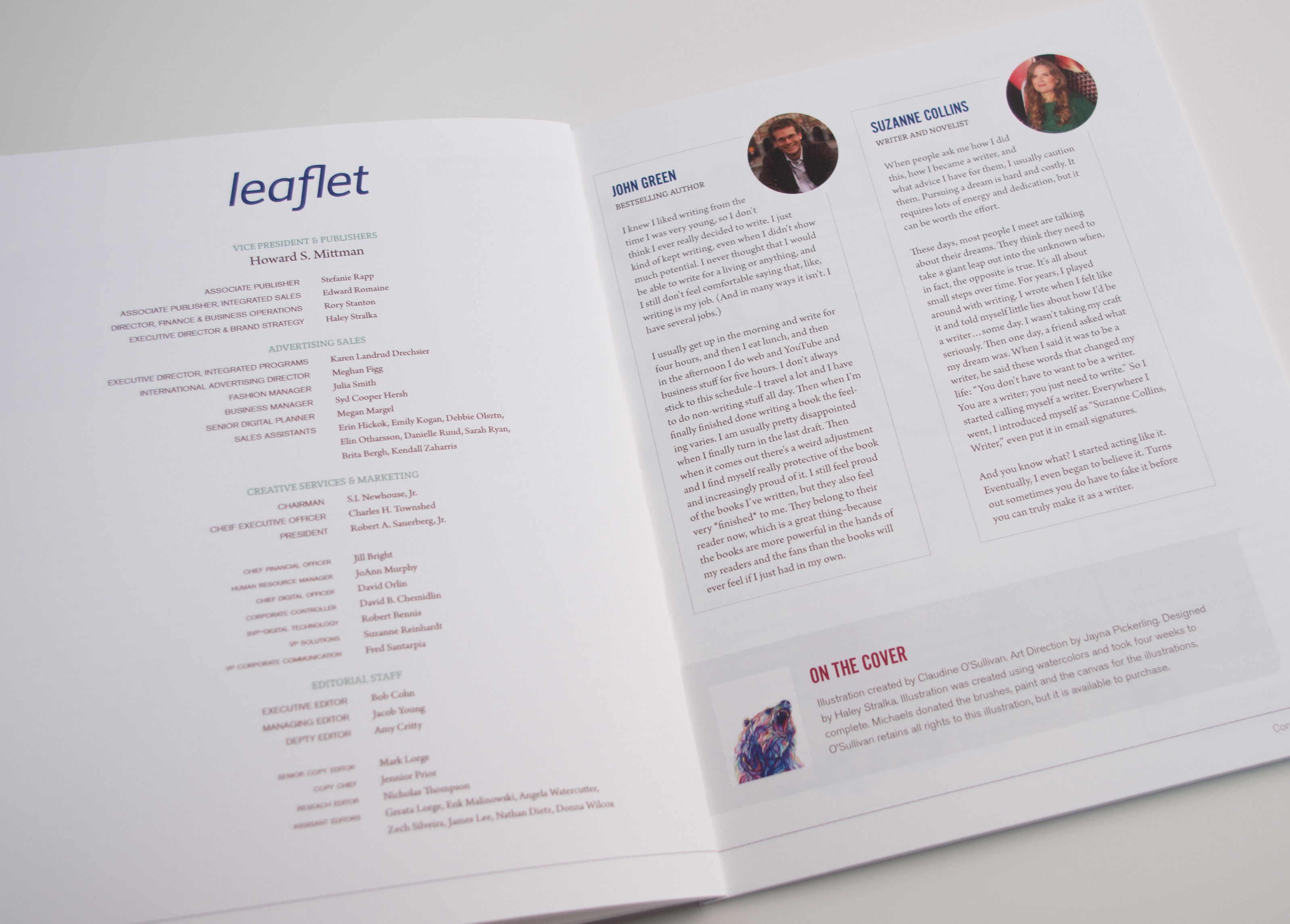 Leaflet Magazine Letter to the Editor