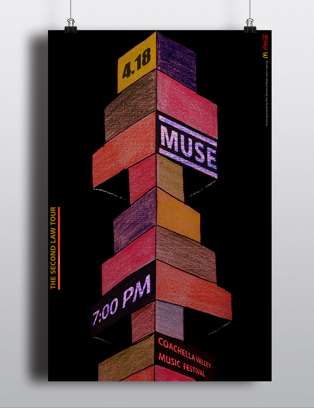 MUSE Poster Design