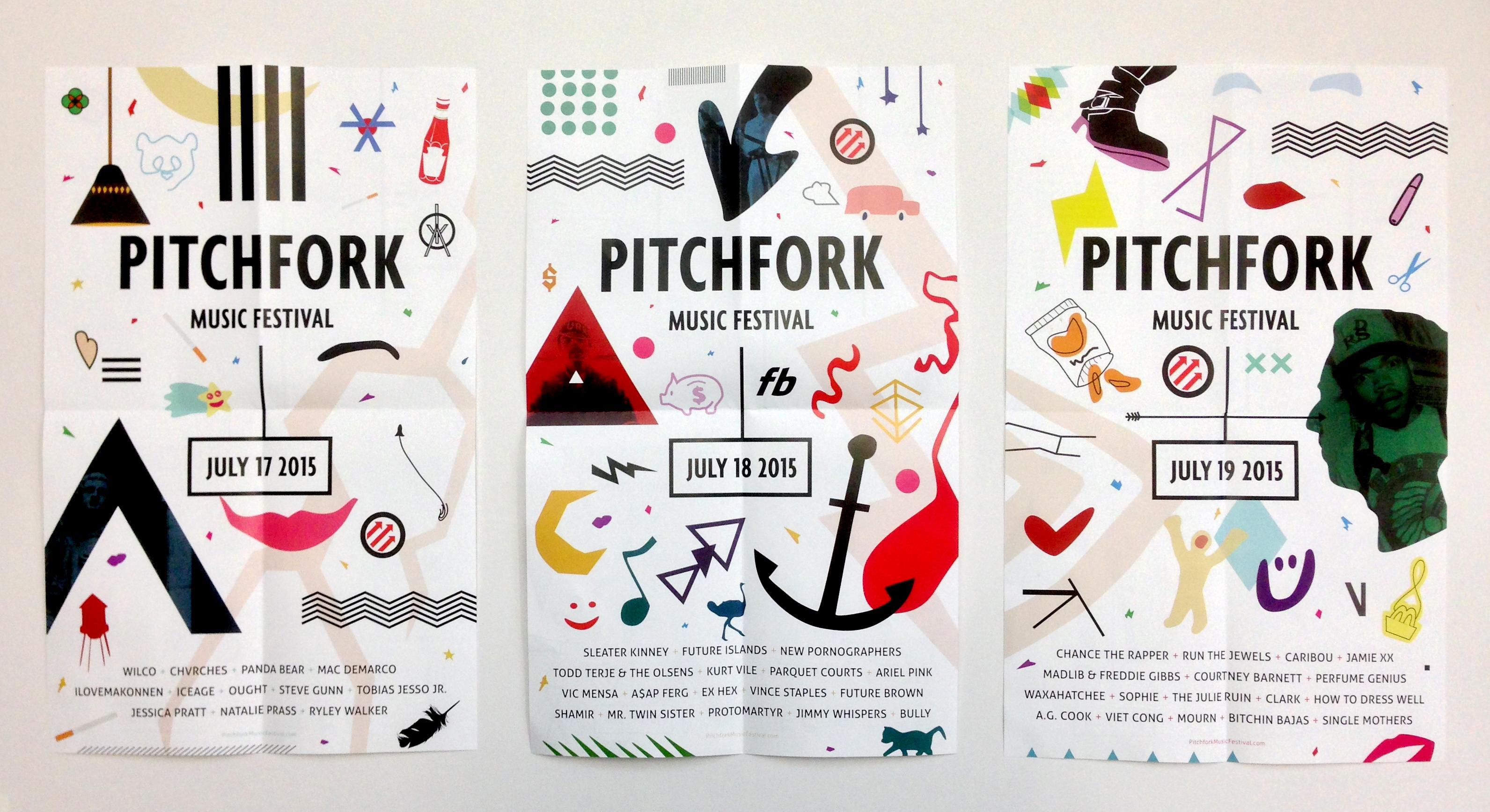 Music Festival Poster Series